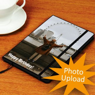 photo upload notebook