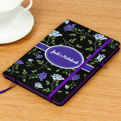 A5 Holly Edge Notebook