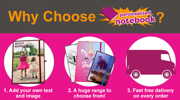 personalised notebooks for kids