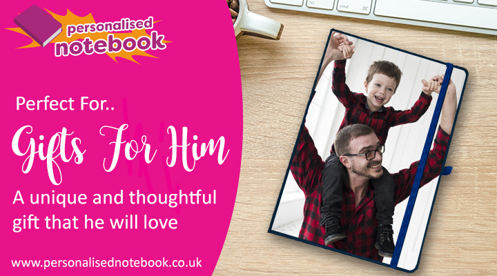 Personalised Notebooks For Him