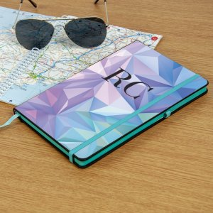 Colourful Edged Personalised Notebooks